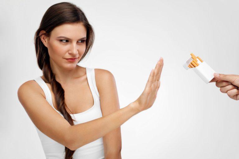 Девушка, Вы курите? Хотите бросить курить?